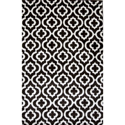 Mirror Rehash Brown Area Rug Rug Size: Rectangle 5 x 7
