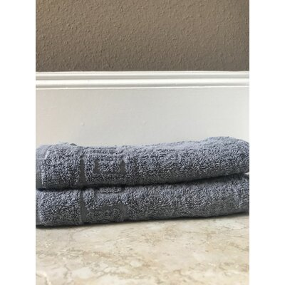 Bath Towel Color: Gray, Set Of: Set of 12