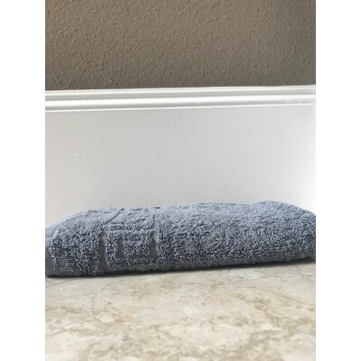 Lewis Cotton Hand Towel Color: Gray, Set Of: Set of 1