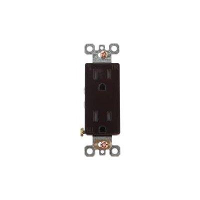 Decorator Duplex Receptacle Tamper Resistant Dimmer