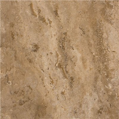 Adobe Stone Self-Adhesive 21.8 x 21.4 x 3mm Vinyl Tile in Dark Beige