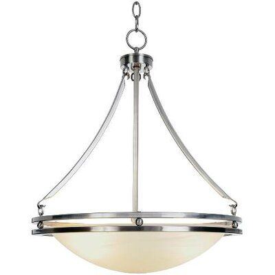 Contemporary 5-Light Bowl Pendant