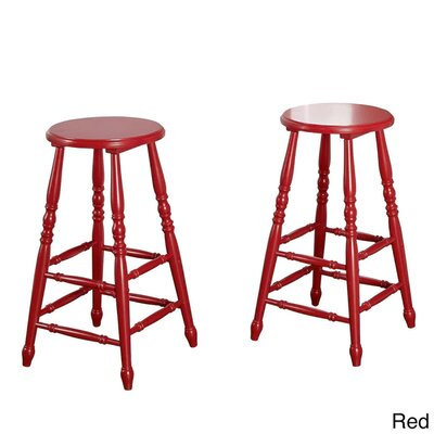29 Bar Stool Finish: Red