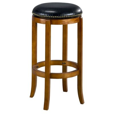 Jackson 29 Swivel Bar Stool Finish: Oak