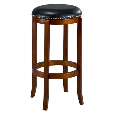Jackson 29 Swivel Bar Stool Finish: Cherry