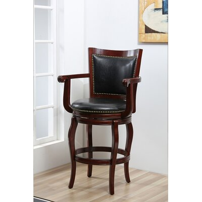 Classic 30 Swivel Bar Stool Finish: Cherry
