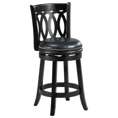 Cameron 38 Bar Stool Finish: Cappuccino