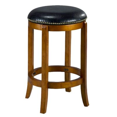 Jackson 24 Swivel Bar Stool Finish: Oak