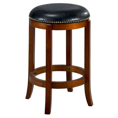 Jackson 24 Swivel Bar Stool Finish: Cherry