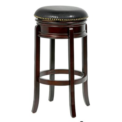 Bristol 24 Swivel Bar Stool Finish: Cappuccino