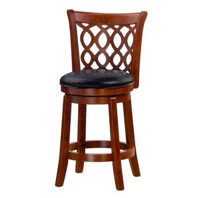Allison 24 Swivel Bar Stool Finish: Oak