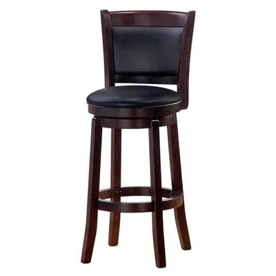 Chandler 43 Swivel Barstool Finish: Espresso