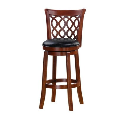 Allison 43 Swivel Bar Stool Finish: Cherry
