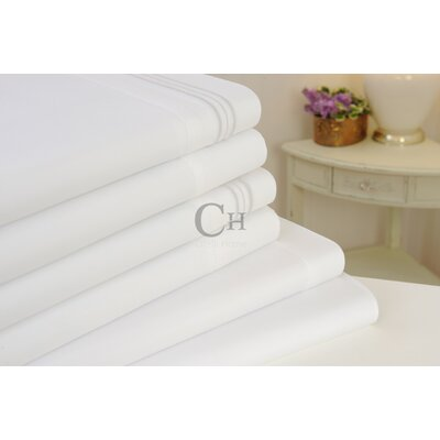 Madison Luxury Egyptian Touch 6 Piece Sheet Set Color: White