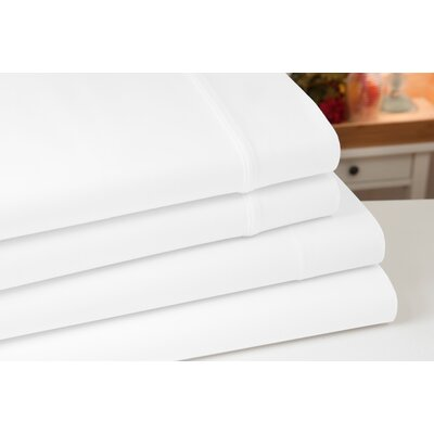 Greenburgh 400 Thread Count 100% Organic Cotton Sheet Set Color: White, Size: Full