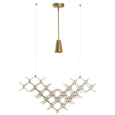 1-Light Geometric Pendant