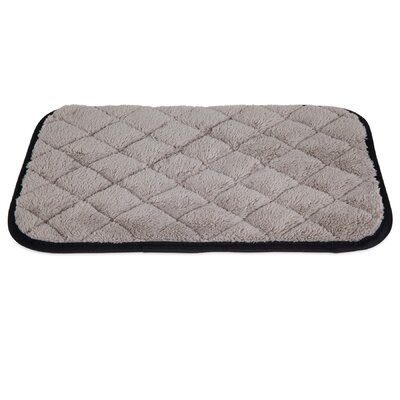 Quilted Cat Mat Color: Gray