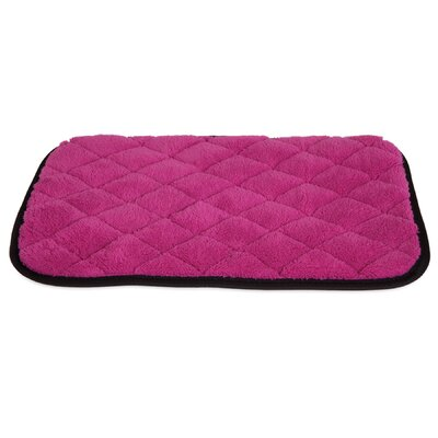 Quilted Cat Mat Color: Pink