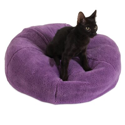 Lily Dumpling Cat Bed Color: Purple