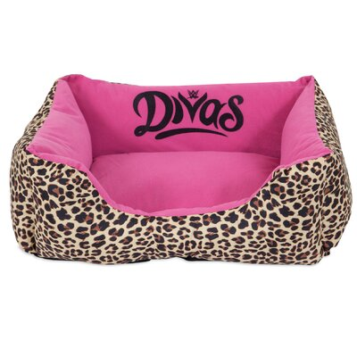 Divas Rectangular Bolster Dog Bed