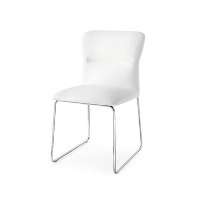 Frida Upholstered Side Chair Upholstery: Skuba Optic White