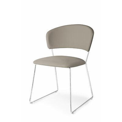Atlantis Side Chair Upholstery: Ekos Moka