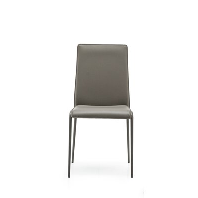 Parade Upholstered Side Chair Finish: Taupe