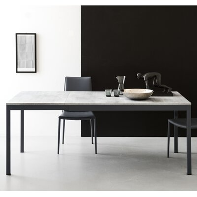 Snap Extendable Dining Table Top Finish: Matt Gray
