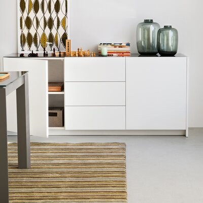 Gloria Sideboard Finish: Optic White