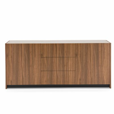Gloria Sideboard Color: Walnut