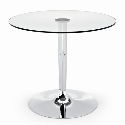 30planet Dining Table Base Finish: Chrome