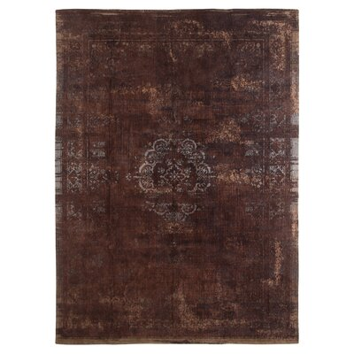 Medallion Machine-woven Indoor Brown Area Rug