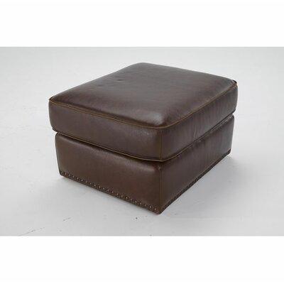 Vincenzo Leather Ottoman