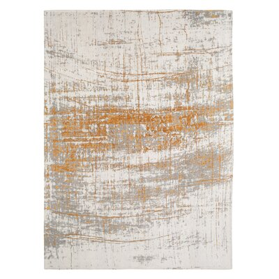 Mad Man Machine-woven Indoor Gold Area Rug