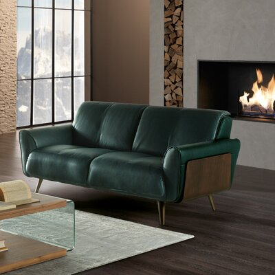 Tobia Leather  Loveseat
