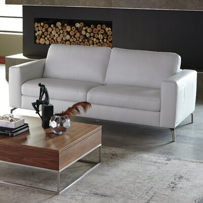 Fabio Leather Loveseat