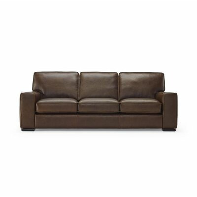 Vincenzo Leather Loveseat