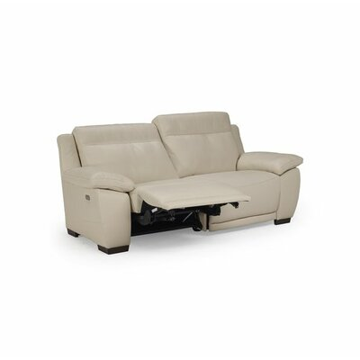 Sandro Leather Reclining Loveseat
