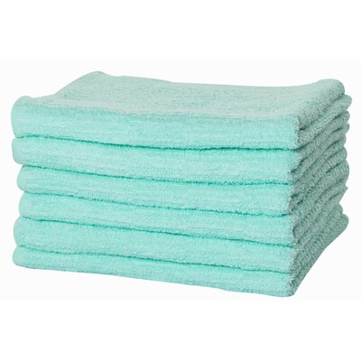 Turkish Cotton Hand Towel Color: Mint