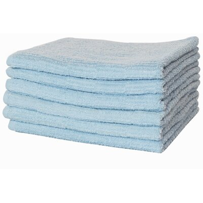 Turkish Cotton Hand Towel Color: Blue