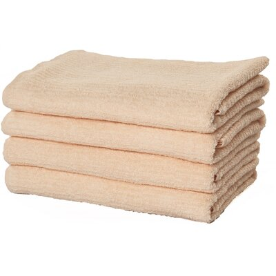 Turkish Cotton Bath Towel Color: Salmon