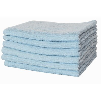 Turkish Cotton Bath Towel Color: Blue