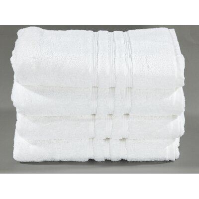 Cotton Dobby Bath Towel Color: White