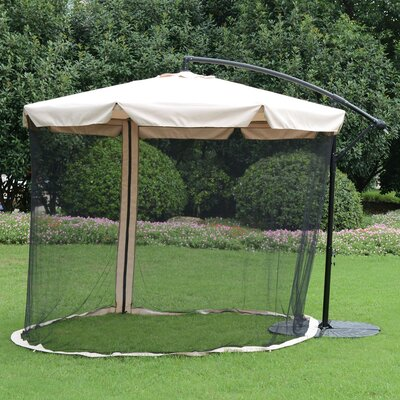 Hessie 10 Offset Cantilever Umbrella