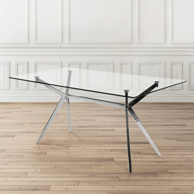 Paris Rectangle Modern Dining Table