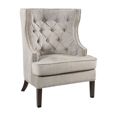 Sue Wingback Chair Upholstery: Platinum