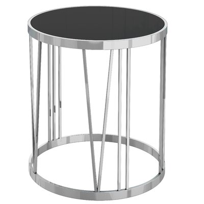 Joycelyn Glass End Table