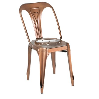 Dhruv Tolix Dining Chair Color: Bronze