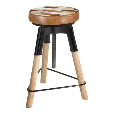 Yuvaan 27 Adjustable Height Swivel Bar Stool