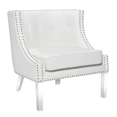 Cristiano Upholstered Dining Chair Upholstery: White
